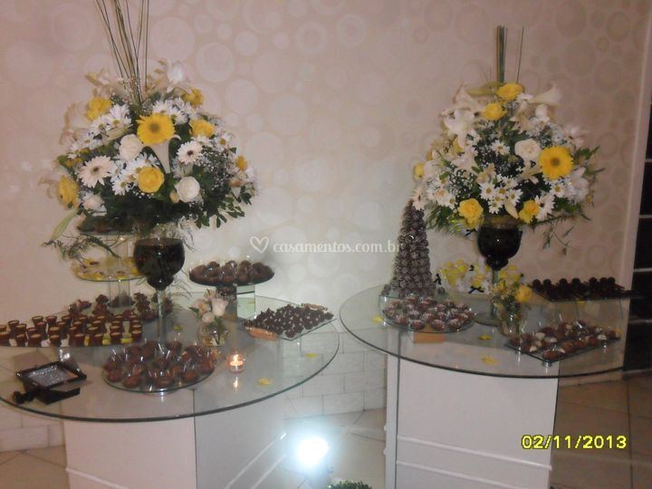 Mesa chocolate