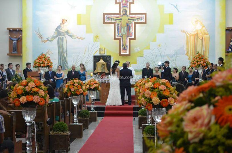 Cerimonia Igreja