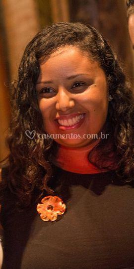 Cerimonialista Roberta Correia