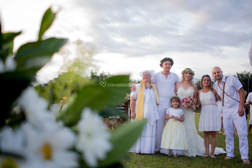 Umbanda wedding