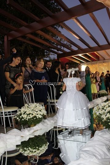 Mini wedding ao ar livre