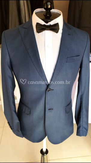Costume Azul Cobalto