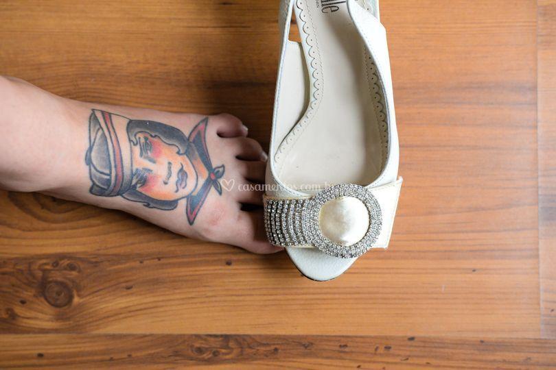 Pes e tattoo