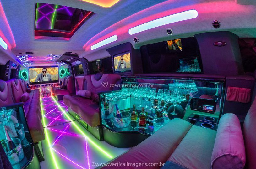 Limousine Hummer Interno