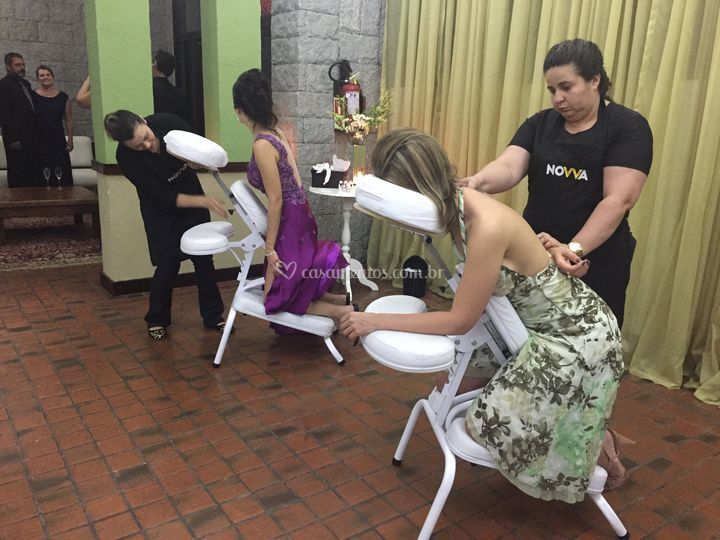 Quick Massage - Casamento