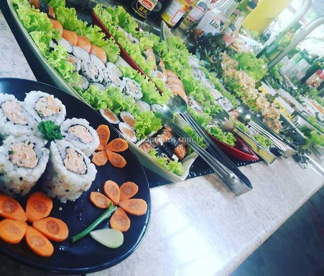 Buffet Comida Japonesa