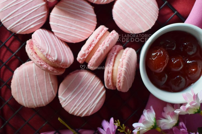 Cereja, Macarons