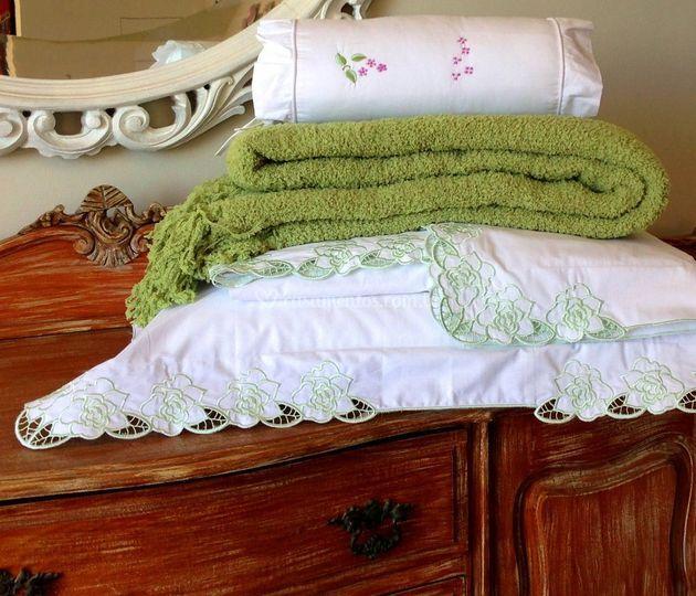 Manta tricot Algodão