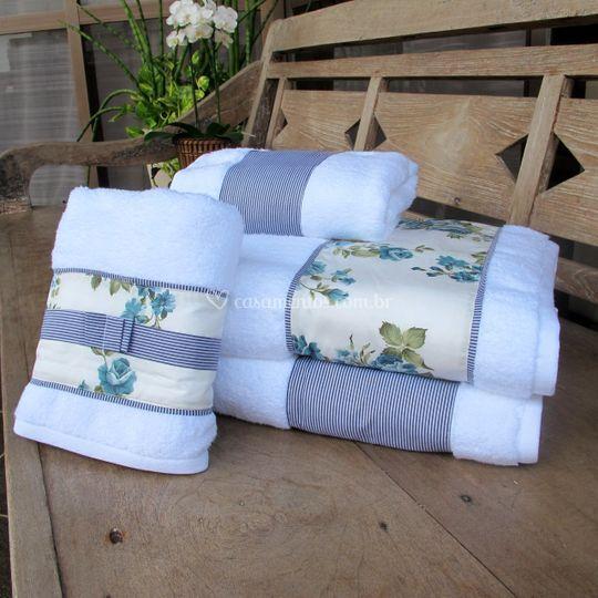 Jg toalha Blue Provence Gigan
