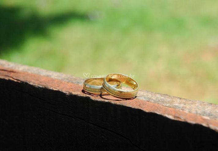 Exibição dos anéis