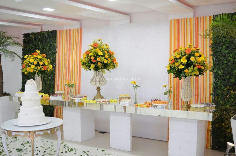 Casamento amarelo coral 2