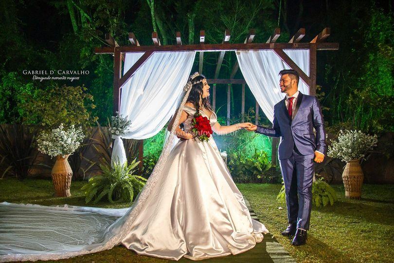 Uma linda noite para casar