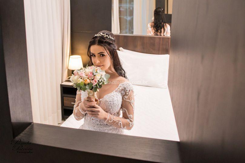 Noiva no hotel
