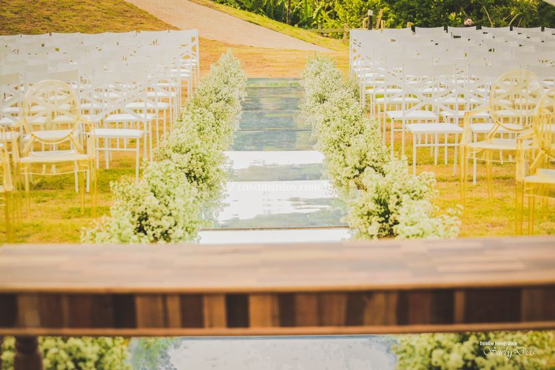 Área externa para Cerimônias