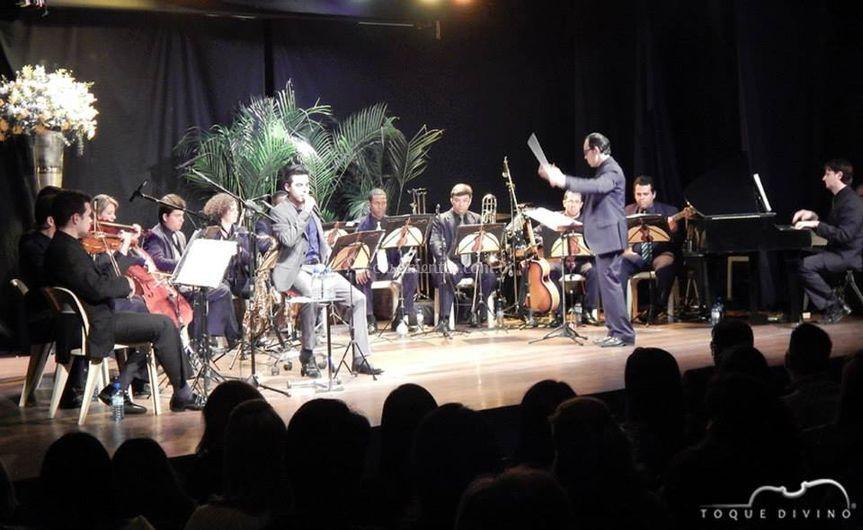 Orquestra em ação