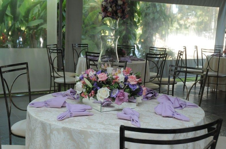 Decoração da mesa