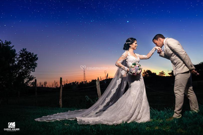 Casamento de Andressa e Cassio