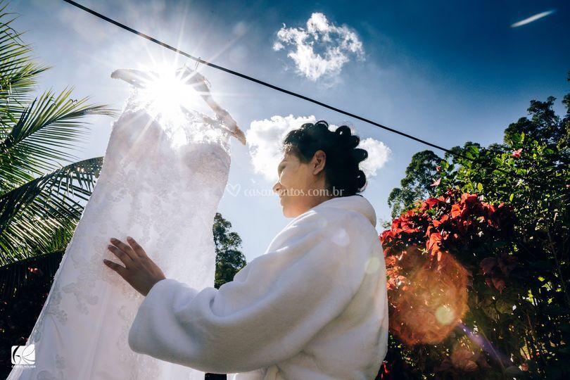 Casamento Cil e Pedro