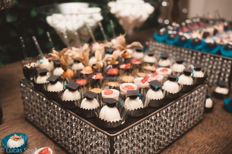 Detalhes mesa de doces