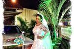 A pose da noiva