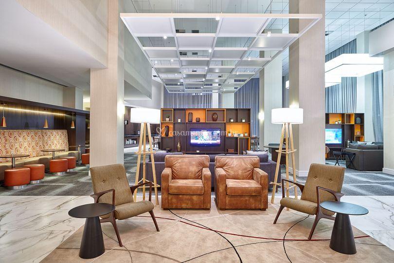 Lobby residence inn