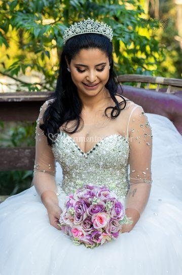 Dia de noiva Bianca e Pedro