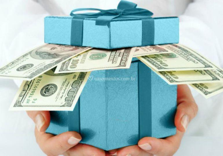 Converta presentes em dinheiro