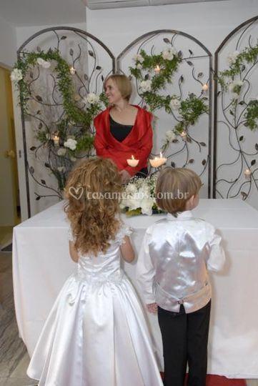 Casamento no salão
