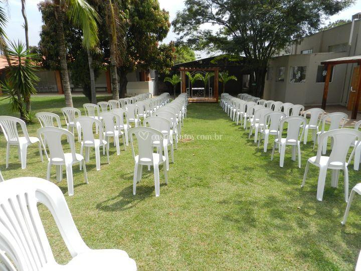 Local para cerimônia externaa