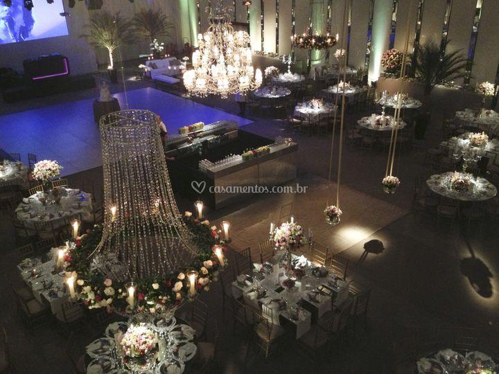 Salão decorado Monte Líbano