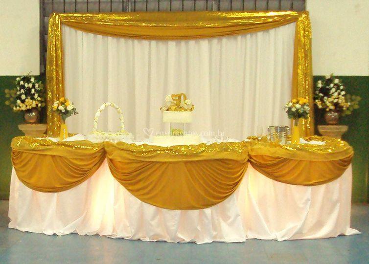 Decoração Dourada