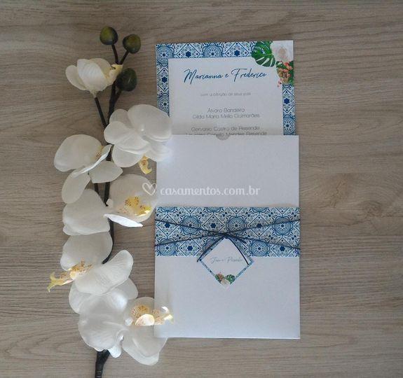 Convite azulejo português