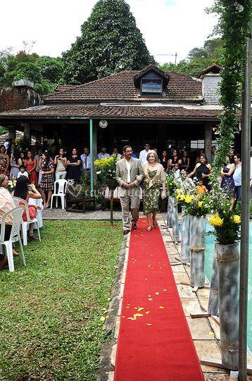 Casamento na pousada
