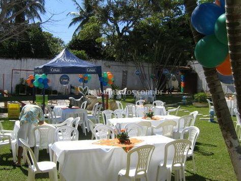 Evento no jardim