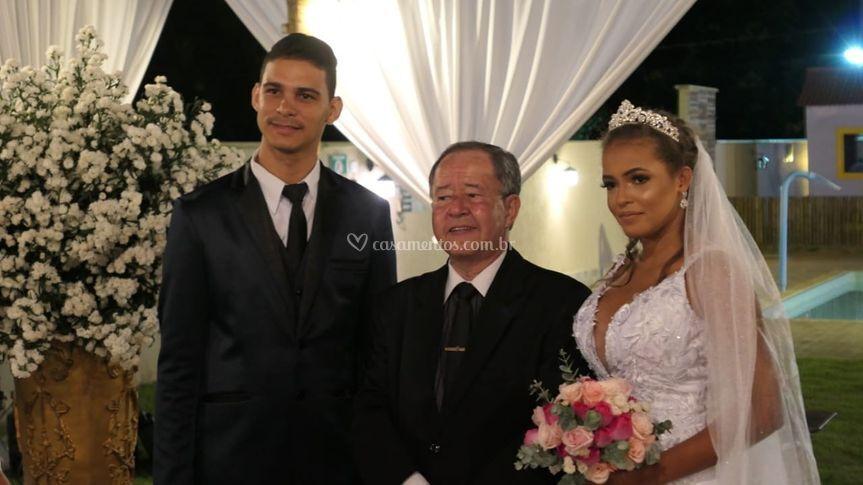 A Luisa e Rafael!