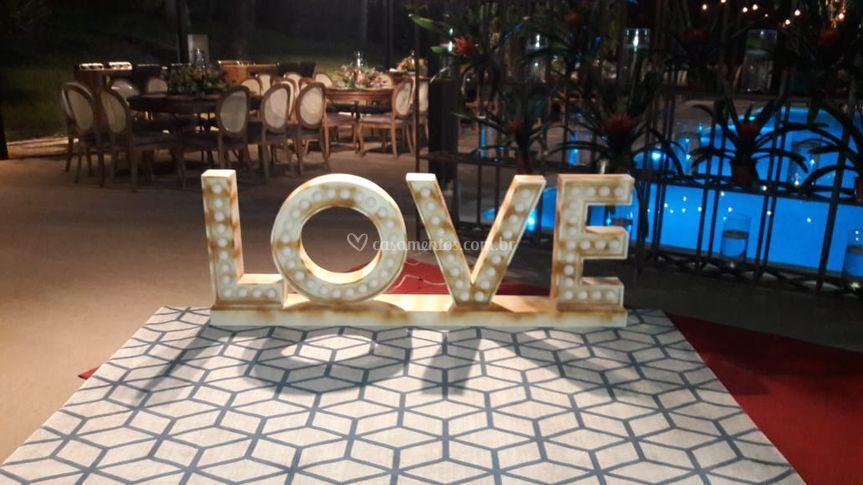 O amor presente!