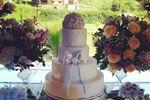 O bolo... uma obra de arte!