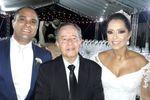 Faydra, Marcelo e Celebrante