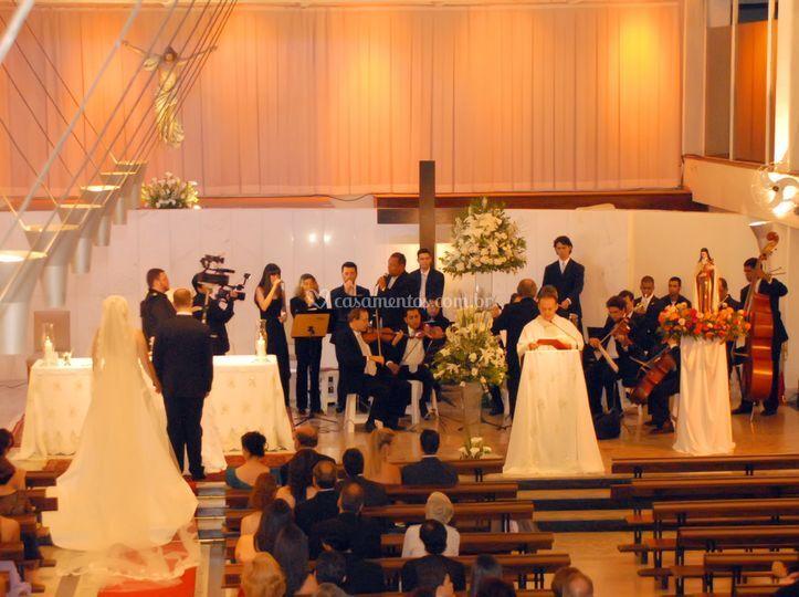 Cerimônia de casamento loyola