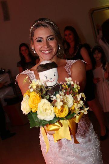 Bouquet  com santo antonio
