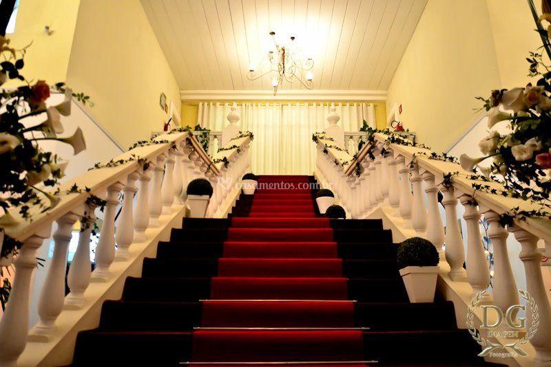 Escadas Salão Mansão