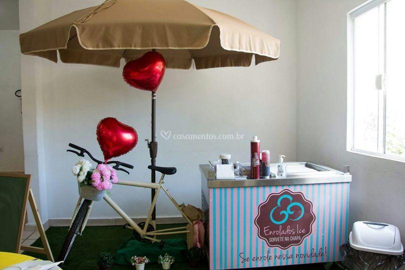 Food bike para casamentos!