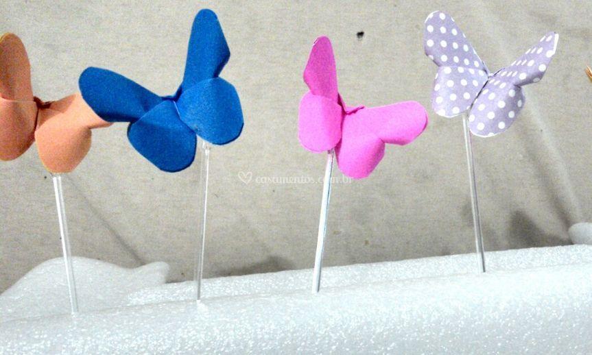 Topper borboleta