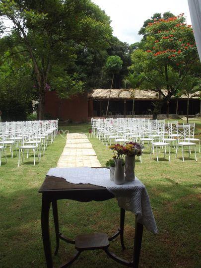 Area da Cerimonia ao ar livre