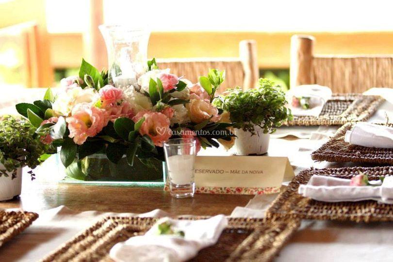 Centros de mesa delicados