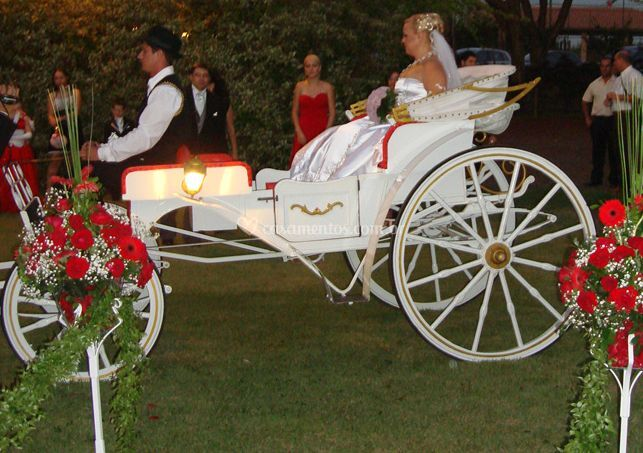 Carruagens para noivas