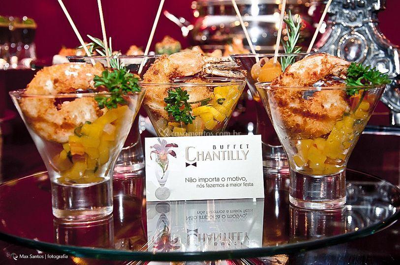 Buffet Chantilly