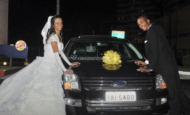 Carro para casamentos