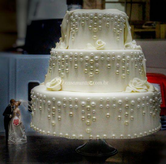 Bolo Clássico Casamento