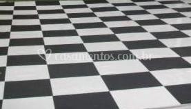 Pista de dança em xadrez